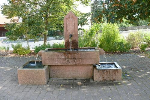 Bild:Brunnen in Katzenbach