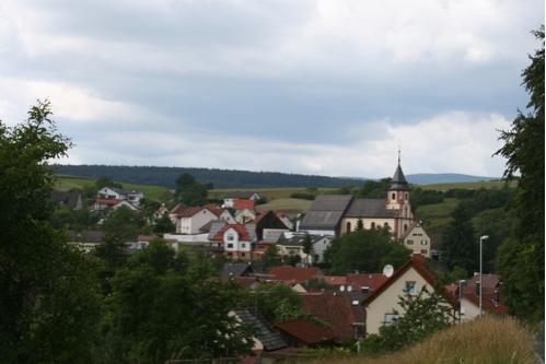Teilansicht von Stralsbach