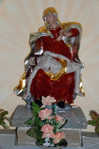 Bild:Kapelle Wendelinus Waldfenster 2