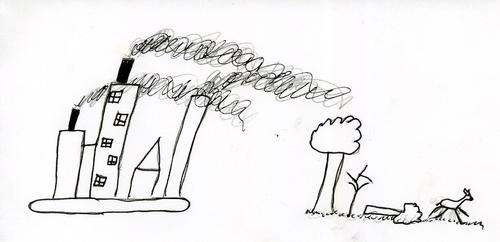 Umweltschule - Treibhauseffekt