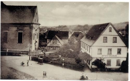 Apotheke Burkardroth bis 1961