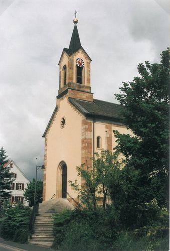 Gefäll Kirche