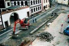 Verlegung Gasleitung in Burkardroth