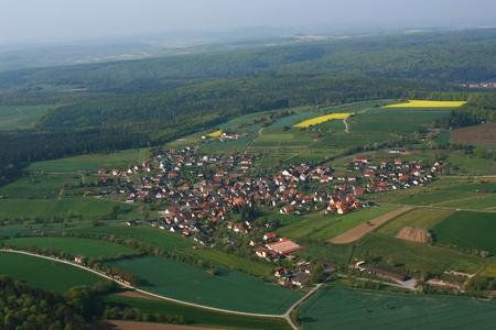 Waldfenster - Luftaufnahme